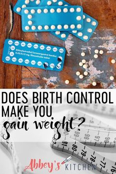 Does birth control make you gain weight? I look at the research and share the pill options that are the best and worst for weight gain. - Pregnacy and moms Nutrition Information, Nutrition Tips, Reduce Weight, Weight Gain, Losing Weight, Healthy Food Habits, Weight Loss Challenge, Health And Fitness Tips, Birth