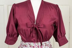 Bluse Lisa #forties #fifties #vintage #retro #VintageFashion #RetroFashion #heritage #wool #1940 #1940ies #1950 #195ies #swing #rocknroll