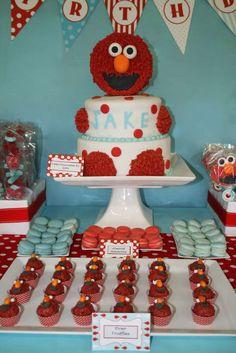 Elmo Birthday Party Ideas | Photo 2 of 22 | Catch My Party