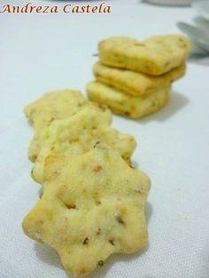 Palitinhos de queijo e biscoitinho de ervas