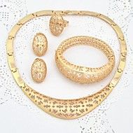 Dubai Gold Jewelry  Gold Plated Jewelry Set Beautiful Necklace Set For Mother of the Bridal. Get marvelous discounts up to 80% Off at Light in the Box using coupons.