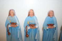 Ten Bridesmaids Parable Figures.