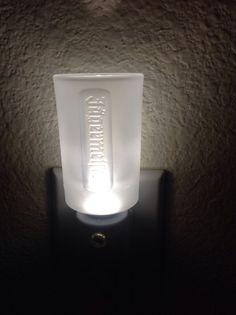 Jägermeister Shot Glass Nightlight on Etsy $15.00