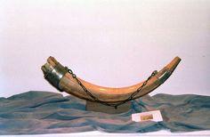 Rolands Horn Olifant im Museum der Kathedrale von Santiago di Compostela