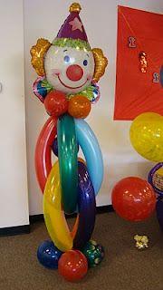 Balloon Clown globos