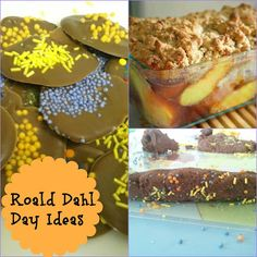 Playful Learners: Roald Dahl Day Activity Ideas - includes activities for Charlie and the Chocolate Factory and James and the Giant Peach! Roald Dahl Games, Roald Dahl Activities, Roald Dahl Day, Roald Dahl Books, Activities For Kids, James And Giant Peach, Dahl Recipe, The Twits, Activity Ideas