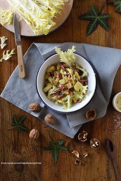 Salade de pdt à la friseline