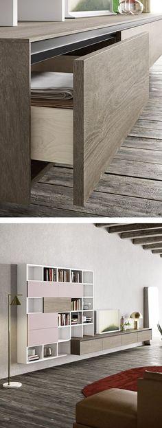 gedeckte farben anthrazit elegant gemütlich #interiordesign - gemutlich modernes wohnzimmer