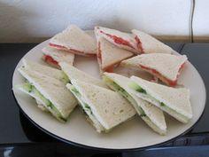 @: Traditional English Tea Sandwiches