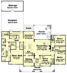 THIS IS IT!!! 4B2B 2400sq ft  LOVE IT!!!!!  142-1131: Floor Plan Main Level