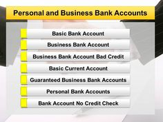 Is it possible to get Business Bank Account with poor credit score? Yes, now you can apply online @ http://bank-accounts-direct.co.uk for Basic Bank Account or Business Bank Account Bad Credit regardless of bad credit score. This type of account helps you to manage your money and to keep your finances in control, even if you have been professed bankrupt. Bank Account Direct guide you to choose best needed account to get back your life on track.