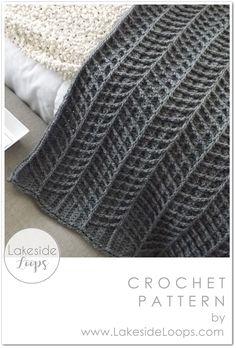 Chevron Crochet Blanket Pattern, Modern Crochet Blanket, Modern Crochet Patterns, Afghan Crochet Patterns, Crochet Afghans, Baby Blanket Crochet, Crochet Yarn, Hand Crochet, Crochet Stitch