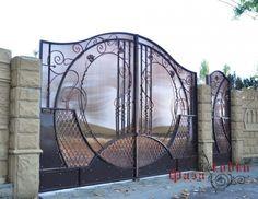 «Фаза ковки» Распашные ворота кованые