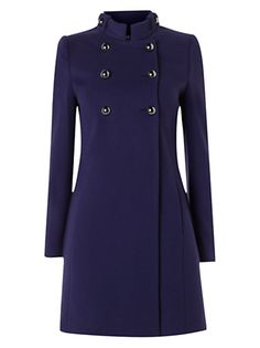 Baby, it's cold outside!  #ImDreamingOf elegant warm coats buttoned up to the top     @Radley London