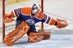 Jeff Drouin-Deslauriers (2008-10) Goalie Mask, Hockey Goalie, Hockey Stuff, Edmonton Oilers, Nhl, Masks, Retro, Awesome, Sports