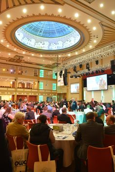 Picture taken at this year's OWC conference #BridlingtonSpa #THMA #OffshoreWind #Energy