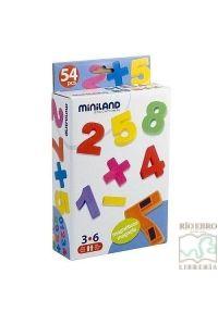 Numeros Magneticos  3 A 6 AÑOS Miniland - 8413082979270 - www.libreriarioebro.es