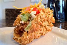 Introducing the RAMEN TACO. Would you try it?