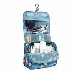Buy PAXLee Travel Toiletry Bag Cosmetic Organizer Storage Hanging Travel Bag Multifunction Portable Makeup Pouch Foldable Hanging Storage Pockets Zipper Closure Hang in Bathroom Closet Makeup Storage Bag, Toiletry Storage, Makeup Pouch, Toiletry Bag, Bag Storage, Makeup Bags, Makeup Kit, Hanging Storage Pockets, Georgia