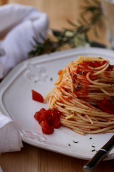 Rosemary Spaghetti