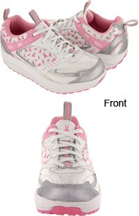 The Contour™ Pink Ribbon Walking Shoes at The Breast Cancer Site