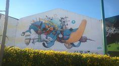 Grafiti en BoulevArt Málaga #UrbanArt