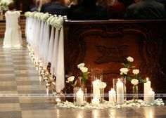 Weddings, wish further resourceful wedding example, check out the image link today. Fall Wedding, Wedding Ceremony, Wedding Church, Church Aisle Decorations, Engagement Decorations, Rustic Wedding Signs, Simple Weddings, Wedding Centerpieces, Marie