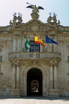 I studied here for 8 months in 2000. Memories!  La Universidad de Sevilla, situada en la antigua Real Fabrica de Tabacos, escenario de la opera Carmen