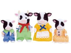 Friesian Cow Family Sylvanian Families