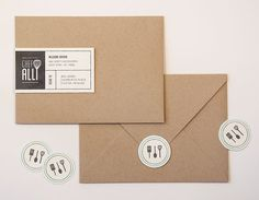 Jen Serafini: Chef Alli Brand Identity and Collateral