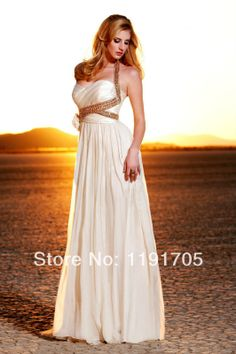 Hot selling new 2014 custom made modern a-line strapless ivory chiffon cheap bridesmaid dresses for weeding/prom/party/brides Prom Dress 2014, Open Back Prom Dresses, Beaded Prom Dress, Backless Prom Dresses, Formal Evening Dresses, Evening Gowns, Prom 2014, Dresses 2014, Party Dresses