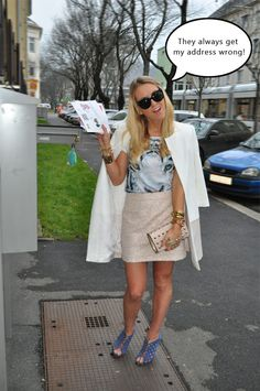 Street Style Comedy - Do you have my tickets for MBFW? Lace Skirt, Comedy, Street Style, Skirts, Outfits, Fashion, Moda, Suits, Skirt