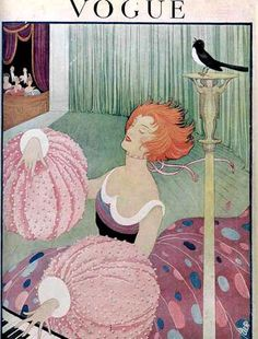 Vogue Cover Copyright 1919 Lady Paino Nightingale