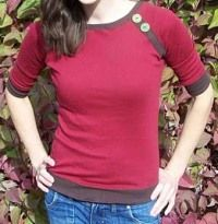 Free Sewing Patterns: Ladies Raglan Top