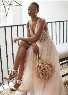 BHLDN Written In The Stars Gown curated on LTK Bhldn, Bridal Outfits, Wedding Dress Styles, Fashion Advice, Bridal Style, Perfect Wedding, One Shoulder Wedding Dress, Ball Gowns, Bodice