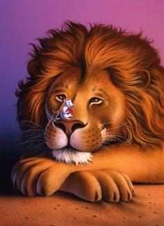 Lion  mouse   Jerry LoFaro
