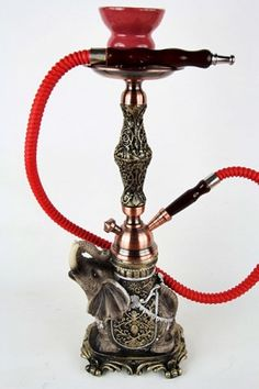 Small Animal Figure Hookah Elephant 1