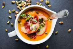 The #1 most common new year's resolution is to be healthy. But sometimes veggies don't sound so amazing in the dead of winter. Warm winter soups to the rescue! While some soups can be quite unhealthy (beware of the cream-based varieties!), there are a plethora out there that are tasty, filling, and nutritious. We've rounded up a dozen of our favorites below. And stay tuned for a new Brit + Co. healthy soup recipe over the next few days!
