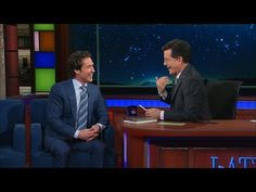 Joel Osteen Joined Stephen Colbert on The Late Show—You Won't Believe What He Asked Him!