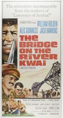 The Bridge on the River Kwai (1957) movie #poster, #tshirt, #mousepad, #movieposters2