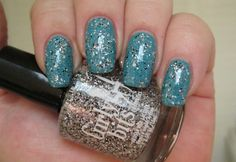 Essie Garden Variety and Girly Bits You Spin Me Round
