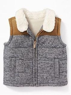Newborn baby and new child outfits, along with social gathering evening wear, sleepsuits, vests and outside outfit. Boys Vest Outfit, Fur Vest Outfits, Baby Outfits, Kids Outfits, Newborn Outfits, Fall Baby Clothes, Cheap Kids Clothes, Toddler Boy Christmas Outfits, Baby Fur Vest