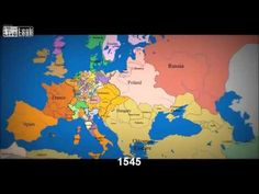"""Do you think this is a game? Good! Because it is."" - Alan Watts [Watch as 1000 years of European borders change]"