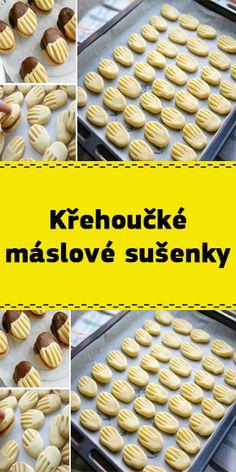 Křehoučké máslové sušenky Cereal, Baking, Breakfast, Food, Morning Coffee, Bakken, Essen, Meals, Backen