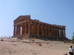 Tempio della Concordia Valle dei Templi Agrigento