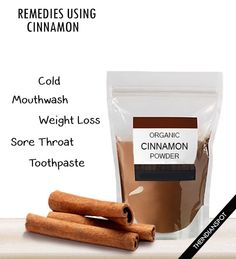 Home remedies using cinnamon