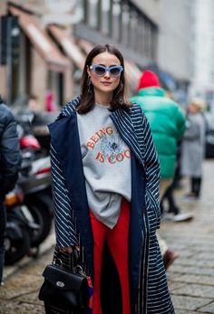 Así Es Como Las Chicas Fashion Se Mantienen Abrigadas A Pesar Del Frío | Cut & Paste – Blog de Moda