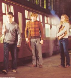 Harry Potter, Ron Weasley & Hermione Granger