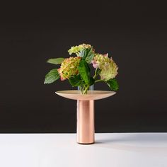 Florence is a series of minimal vases created by London-based designer Nir Meiri. Green Plants, Simple Designs, Florence, Planting Flowers, Sculptures, Planters, Pottery, Shapes, Create