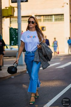 New York SS 2017 Street Style: Mira Duma